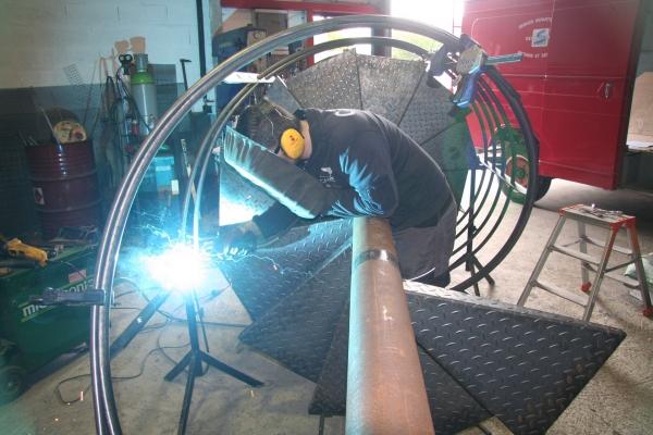 Atelier de métallerie ferronerie