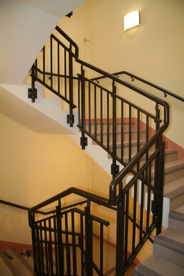 Garde-corps escalier intérieur
