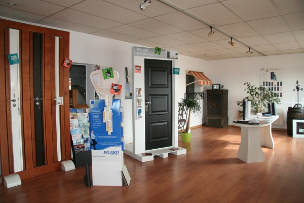 Showroom serrurier portes