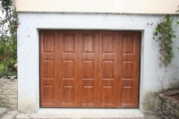 Porte de garage coulissante Hermival les Vaux