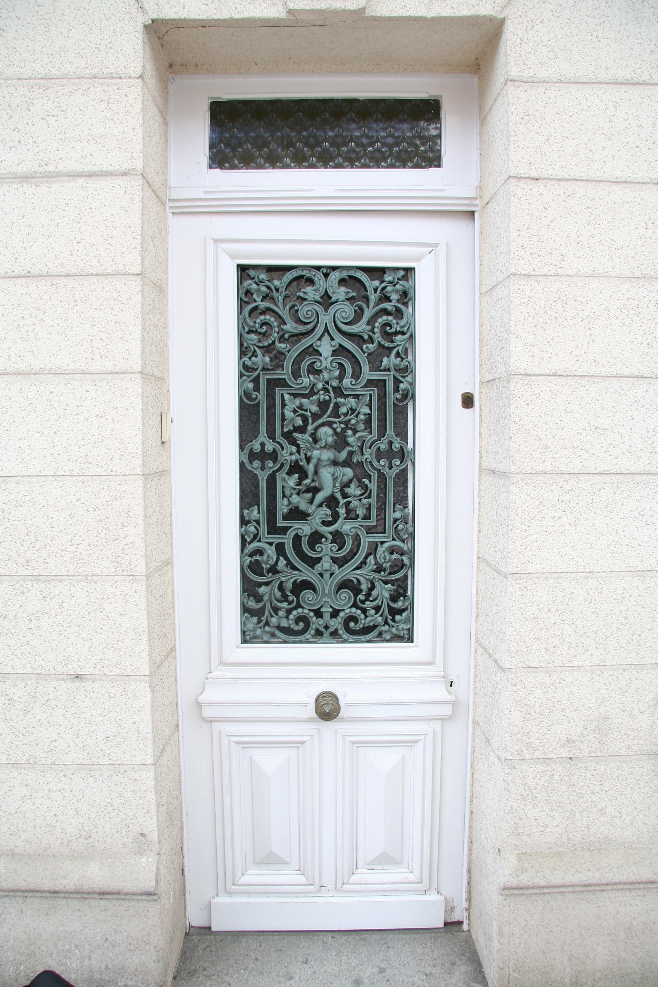 Porte d'entrée Manerbe